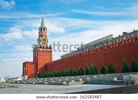 The Moscow Kremlin. Russia - stock photo