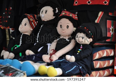 The most beautiful doll - stock photo
