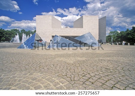 The National Gallery, Washington, DC - stock photo