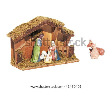 The nativity - stock photo