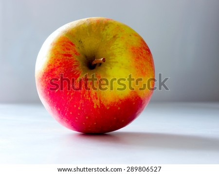 The nature vegetable colored Apple. - stock photo