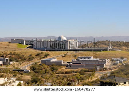The new State House in Windhoek, Namibia - stock photo