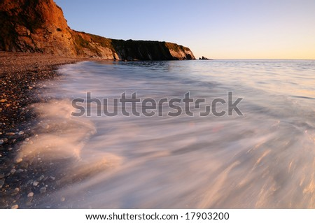the oceans wave - stock photo