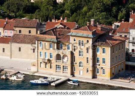 the old city Bakar - Croatia - stock photo