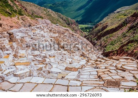The old town of Cuzco in Peru - stock photo