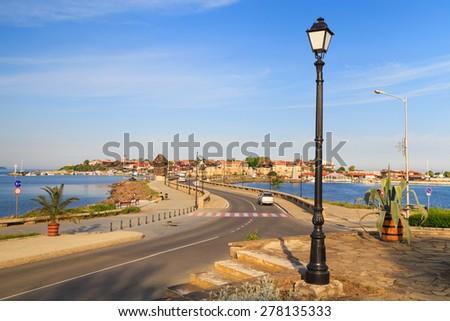 The old town of Nesebar, Bulgaria - World Heritage. - stock photo