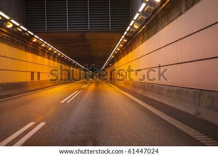 The Oresund tunnel - stock photo