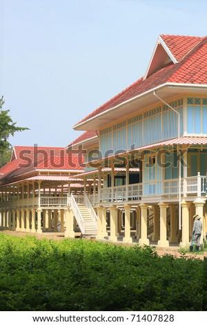 The Palace at beach - stock photo