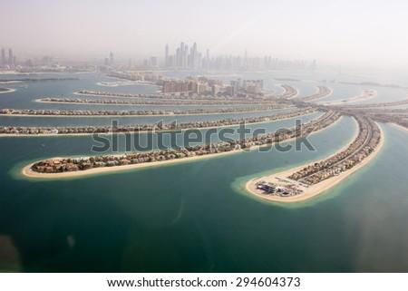 The Palm Jumeirah, Dubai, United Arab Emirates - stock photo