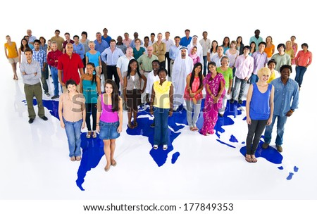 The People of The World  - stock photo