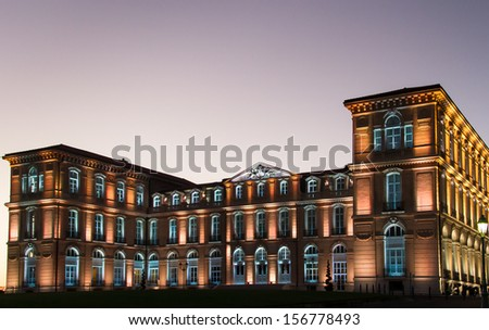 The Pharo palace in Marseille, France. - stock photo