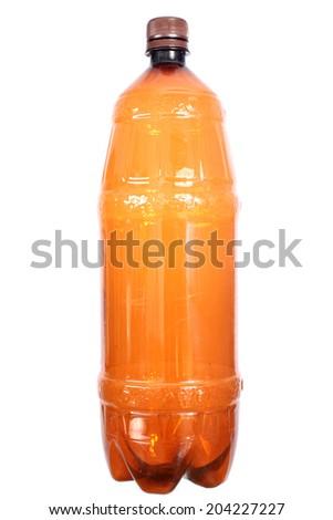 The plastic bottle - stock photo