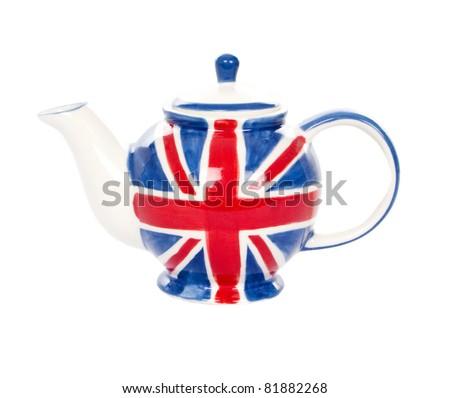 The  pottery - flag United Kingdom - stock photo