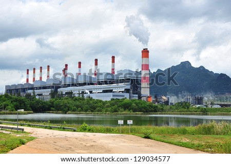 The powerplant. - stock photo