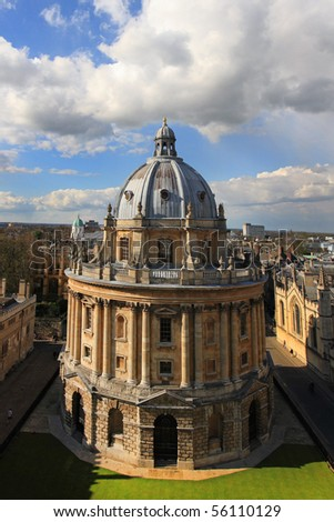 the radcliffe camera, Bodleian library, oxford university - stock photo