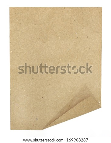 The recycle paper texture  - stock photo
