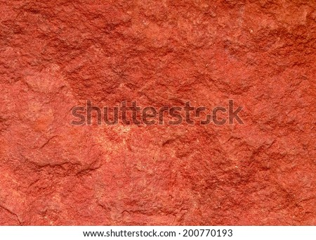 The red rock - stock photo