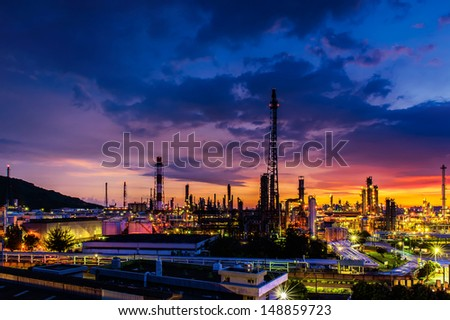 The refinery - stock photo