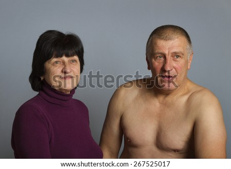 The relationship between man and woman. - stock photo