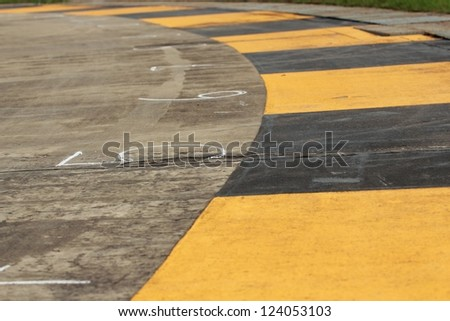 The road. - stock photo