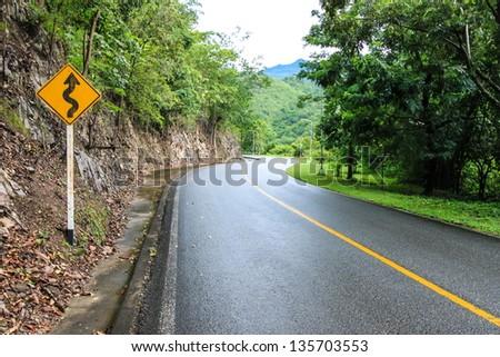 THE ROAD - stock photo