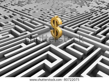 The road to success - stock photo