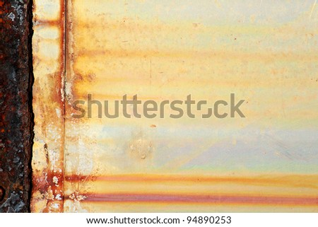 The rusty metal texture background - stock photo