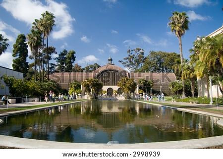 The San Diego Botanical Garden in Balboa Park - stock photo