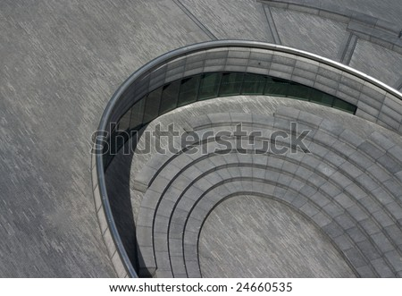 The Scoop from the top of City Hall London - stock photo