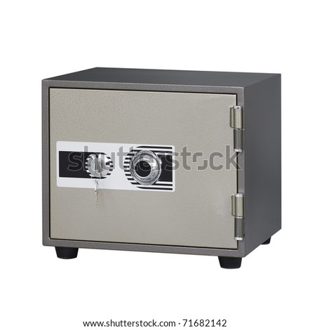 The security safe to keep your importance stuffs of belongings - stock photo