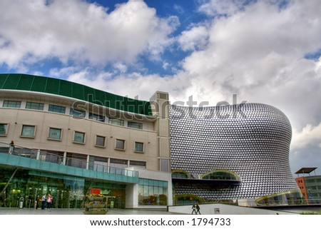 The Selfridges building at the Bullring shopping centre in Birmingham (England) - stock photo