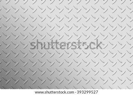 The simple checker plate background - stock photo