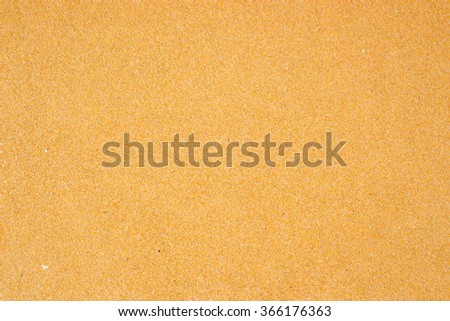 The simplicity of sand, sea. - stock photo