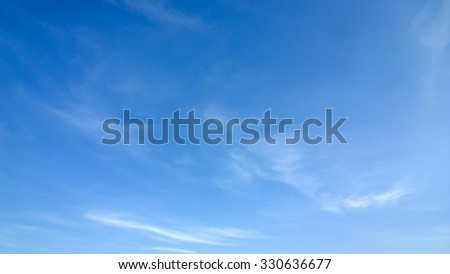The small cloud - stock photo