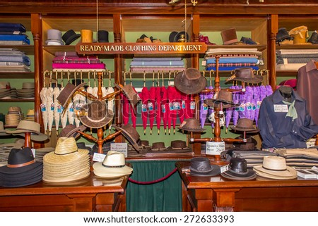 The Sovereign Hill - stock photo