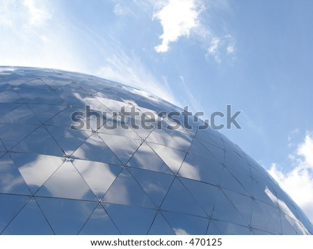 The sphere - stock photo