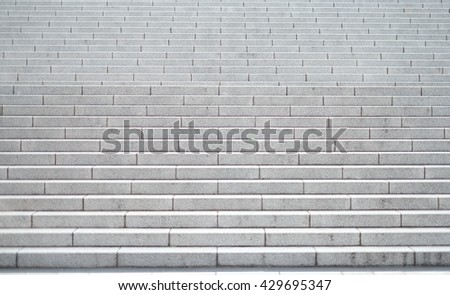 The stairs - stock photo