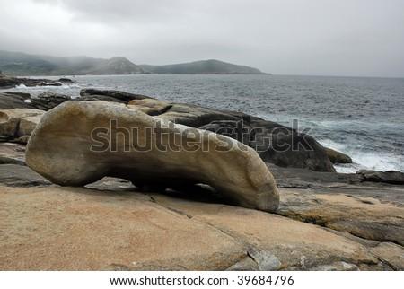 The Stone of Galicia - stock photo
