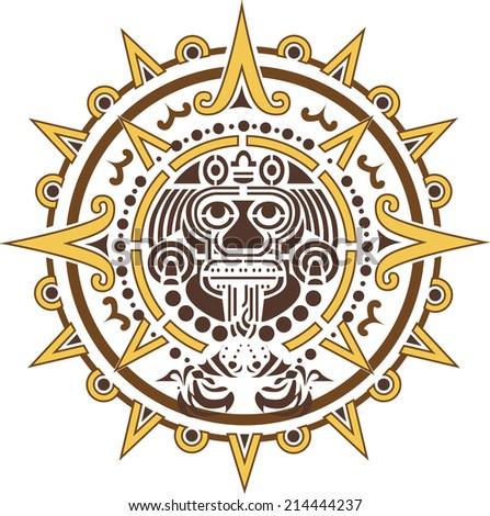 Aztec Symbol For Sun