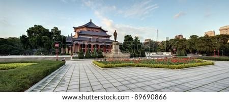 The Sun Yat-Sen Memorial Hall - stock photo