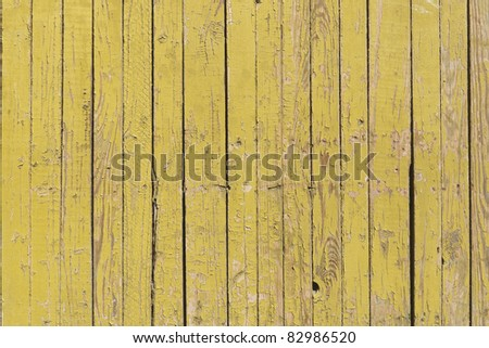 The texture of old scratched wooden planks - stock photo