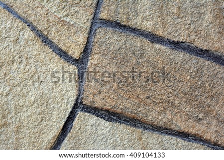 The texture of the concrete wall. The gray concrete surface with cracks. Bunker. Cement blocks. Background. The cement surface texture. Old concrete wall. Relief surface of the concrete wall. - stock photo
