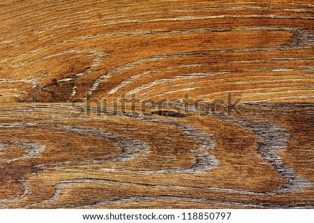 The texture of the laminated floor boards oak - stock photo