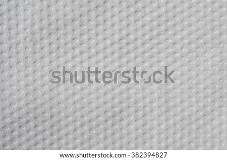 The texture of toilet paper - stock photo