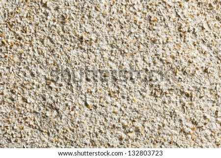 the texture of wholemeal flour - stock photo