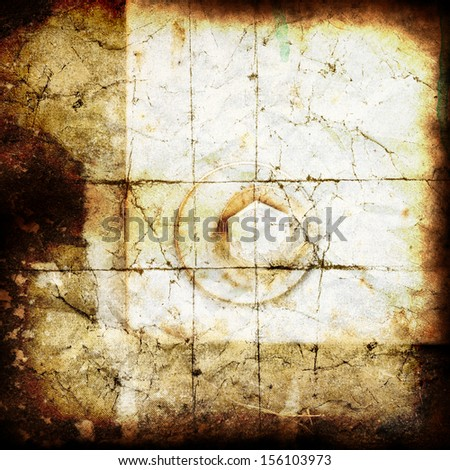 the texture, vintage background of metal design on grunge paper - stock photo