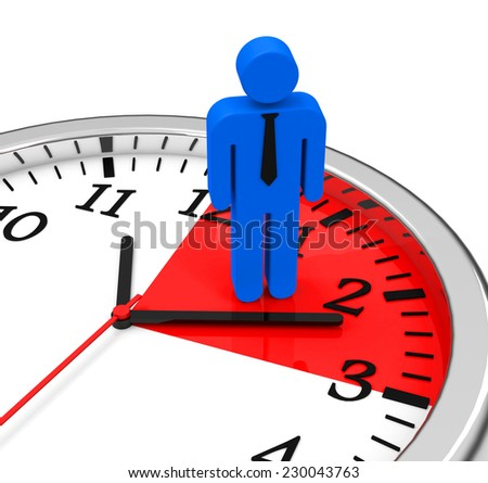 The time management - stock photo