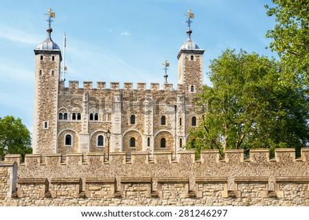 The Tower of London. London, England, UK - stock photo