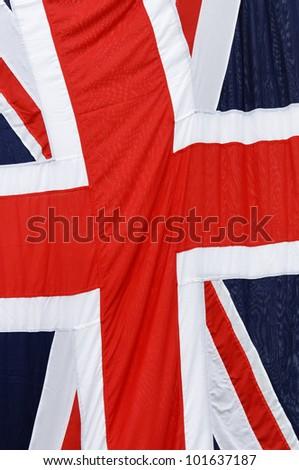 The Union Jack, United Kingdom flag - stock photo