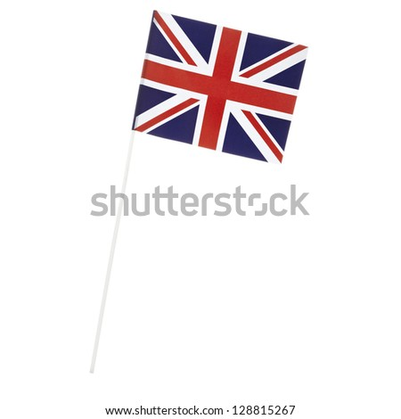The United Kingdom of Great Britain, national flag, Union Flag, british flag, - stock photo